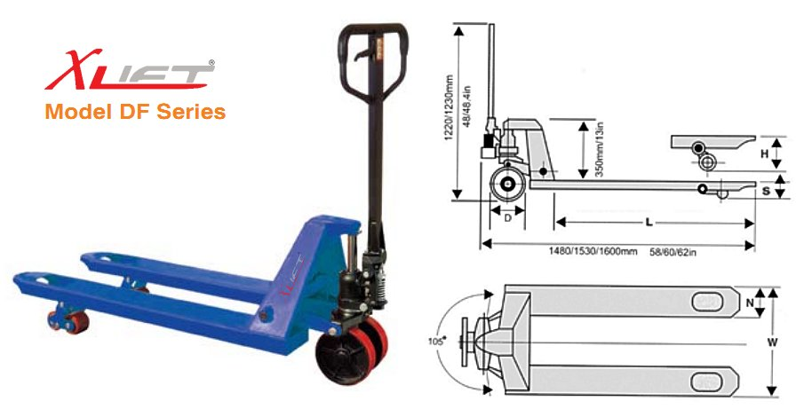 Hand Pallet Truck - AC Series