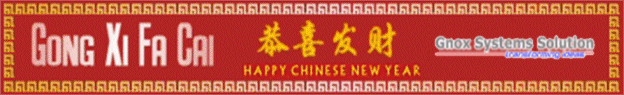 Happy Chinese New Year